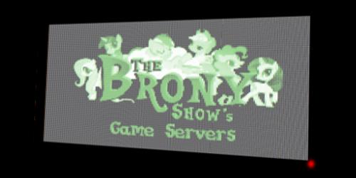 The Brony Show's Game Servers Logo